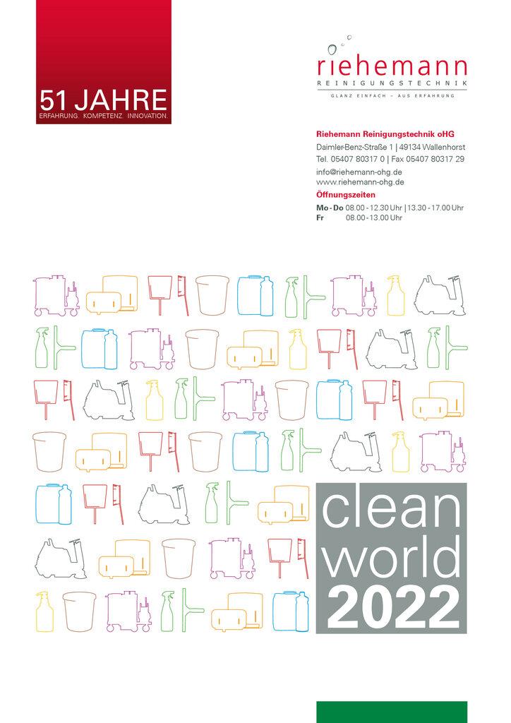 Der neue cleanworld Katalog 2017/2018